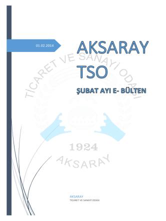 atso sendika ziyaretleri - Aksaray Ticaret ve Sanayi Odası