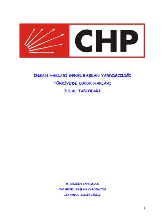 Çocuk İşgücü Anketi Sonuçları, 2012
