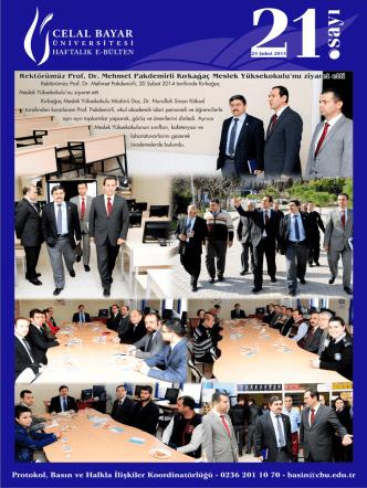 24 Şubat 2014 - Protokol, Basın ve Halkla İlişkiler Koordinatörlüğü