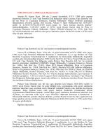 18.06.2014 tarih ve 29034 sayılı Resmi Gazete Antalya İli, Kemer