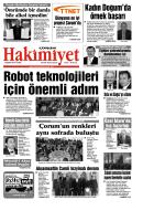 (7 kas\375m.qxd) - Çorum Hakimiyet Gazetesi