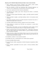 Staj öğrenci Sözleşmesi - Hacettepe Meslek Yüksekokulu