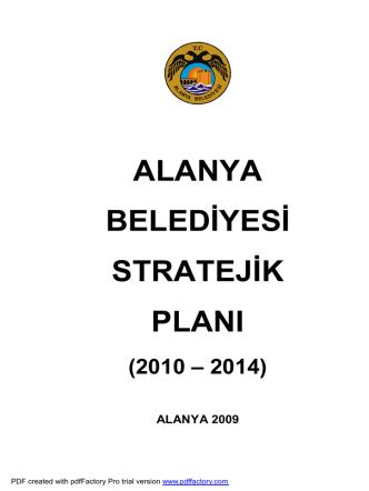 1 başlangıç - Alanya Belediyesi