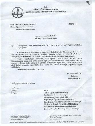 *l .. MiLLi zerrtta aanaafuet - Bitlis İl Milli Eğitim Müdürlüğü