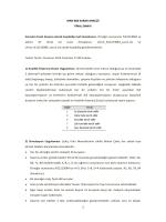 MAN 666 KARAR ANALİZİ FİNAL SINAVI Sınavları Excel dosyası