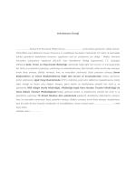 Vekaletname Örneği - İzmir İl Gıda Tarım ve Hayvancılık Müdürlüğü