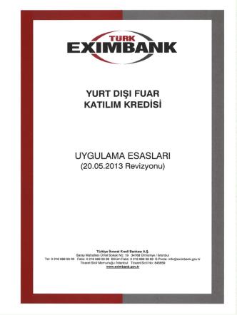 /nıı=ıı‹\ - Türk Eximbank