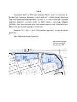 İ L A N 03.12.2014 Tarih ve 493 Sayılı Belediye Meclis Kararı ile