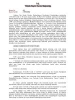 2014/89 - Yüksek Seçim Kurulu Başkanlığı