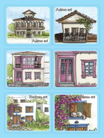 Bodrum evi Bodrum evi Ayvalık evi Ayvalık evi Adana evi Adana evi