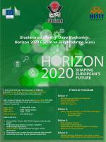 Uluslararası İşbirliği Daire Başkanlığı, Horizon