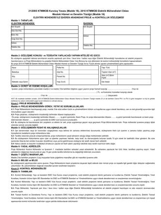 21/2005 KTMMOB Kuruluş Yasası (Madde 18), 2010