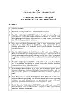 2014 Haziran Ayı Meclis Gündemi