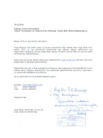10.12.2014 - İTÜ Tekstil Teknolojileri ve Tasarımı Fakültesi