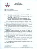 """.f """"ç BİTLİS vALiLiĞi k ıı Mun Eğitim Müdürlüğü sayı z 6432761"""