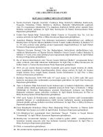 04 Temmuz 2014 Meclis Gündemi