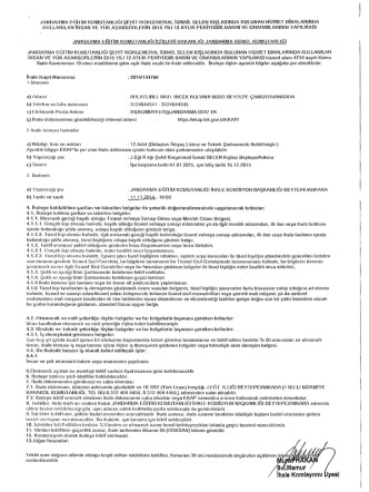 /BvÎMemur / / - Ankara Ticaret Odası