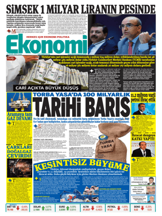 12 eylül 2014 - Ekonomi Gazetesi
