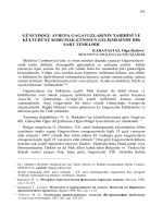 KARANASTAS, Olga Radova-GÜNEYDOĞU AVRUPA