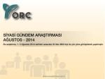 OHC - ORC Araştırma