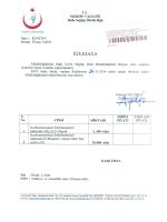 . MERSİN VALİLİĞİ - Mersin Sağlık Müdürlüğü