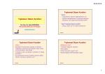 H1-Toplumsal Düzen kuralları