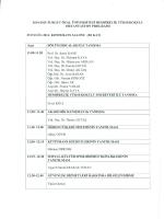 2014-2015 turgut özal üniversitesi hemşirelik