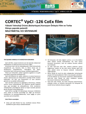 CORTEC® VpCI -126 CoEx film