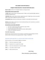 BTY Dersi Bilgi Güvenliği Konusu