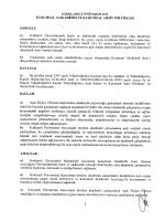 Kurumsal Açık Erişim ve Arşiv Politikası - KLU - KDDB