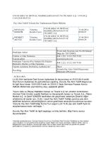 11 04 2014 Pay Alım Teklifi Yoluyla Pay Toplanmasına