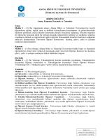 Öğrenci Konseyi Yönergesi - Adana Bilim ve Teknoloji Üniversitesi