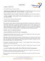 Protokol için Tıklayınız... - Antalya Serbest Muhasebeci Mali