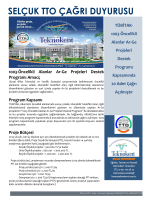 1003-Öncelikli Alanlar Ar-Ge Projeleri Destek Programı Kapsamında
