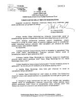 Yazılı Soru Önergesinin Metni - Türkiye Büyük Millet Meclisi