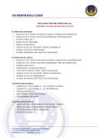 2014-2015 eğitim öğretim yılı yabancı yayınlar