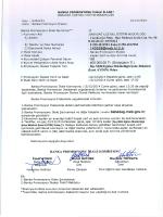 Banka Promosyon İhalesi - Babadağ İlçe Milli Eğitim Müdürlüğü