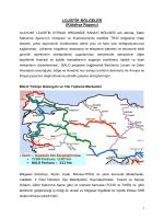 kütahya lojistik raporu - Kütahya Ticaret ve Sanayi Odası
