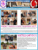 ekim-kasım bülteni 2014 - Milli Eğitim Bakanlığı