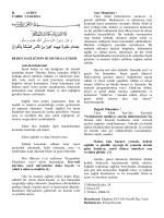 11.04.2014 - beden sağlığının ruhumuza etkisi