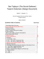 Ses Toplayıcı (The Sound Gatherer) Tasarım Dokümanı (Design