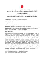 Seminerİlanı_2014 2 - Hacettepe Üniversitesi Matematik Bölümü