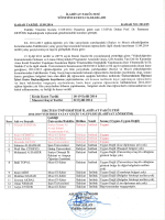 ilahiyat fakültesi yönetim kurulu kararları