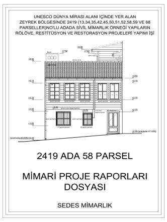 2419 Ada 58 Parsel-Rekonstruksiyon