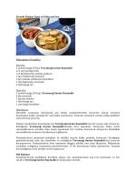 Fırında Patates Cipsi ve Patlıcanlı Sos Malzemeler (4 kişilik) : Sos