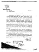 Turist Rehberleri Birliği Genel Sekreterliğinin 09.04.2014 tarih 548