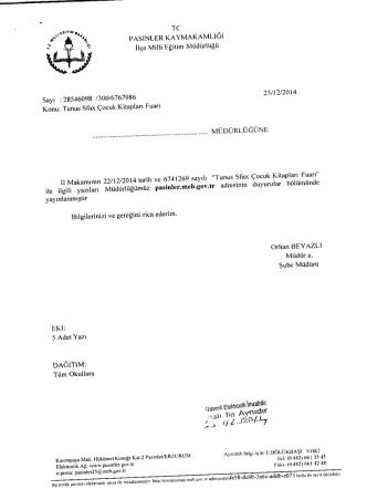 390 - Pasinler İlçe Milli Eğitim Müdürlüğü