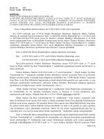 Ġmar ve Bayındırlık Komisyonunun 26/11/2014