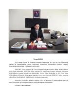 Turgut BADAK - Çevre ve Şehircilik Bakanlığı