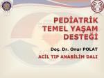 Pediatrik Temel Yaşam Desteği
